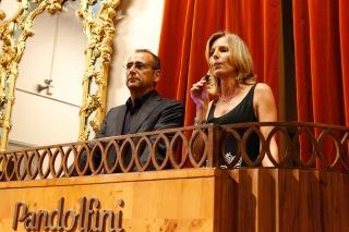 Carlo Conti e Sandra Von Borries